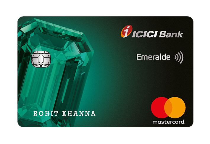 icici bank emeralde credit card  apply for credit card