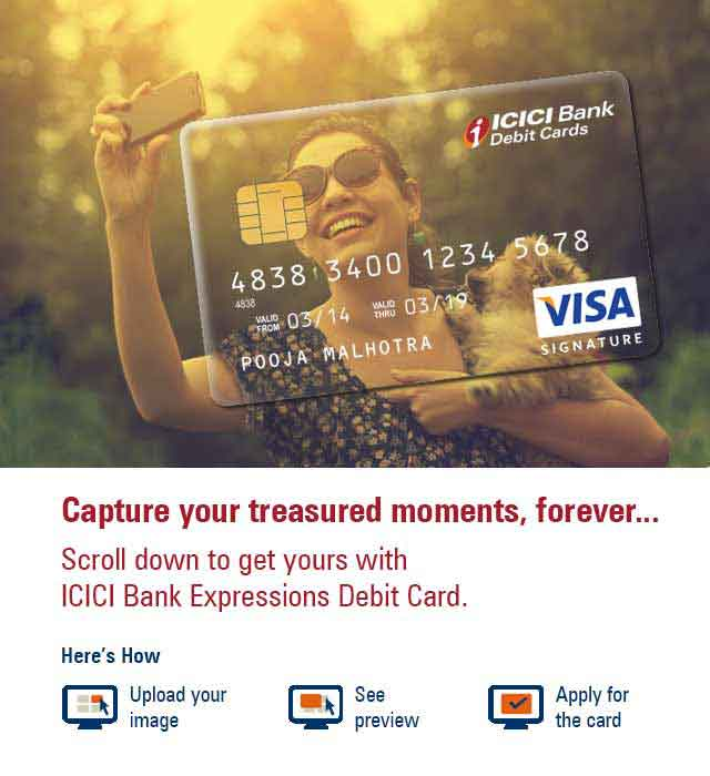 Steps to Design Your Own Debit Card - Expression Cards