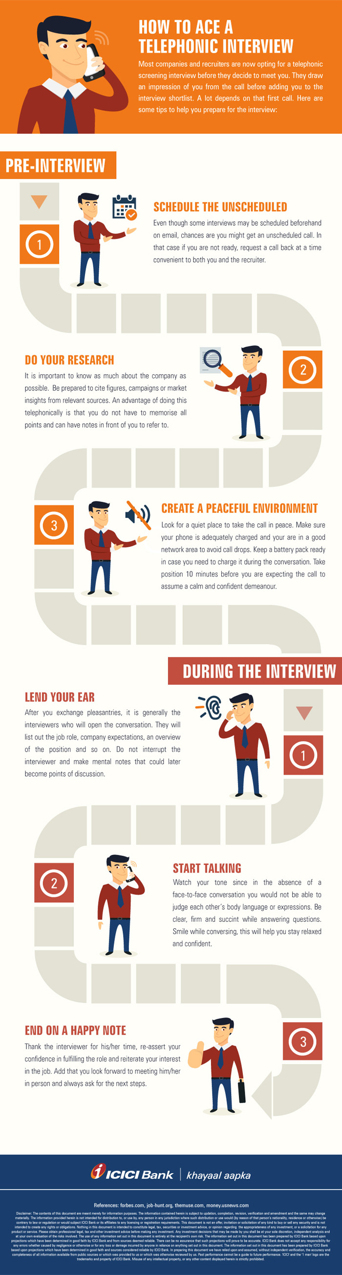 how to ace a telephonic interview