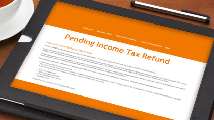 How to Claim Your Pending Income Tax Refund Online