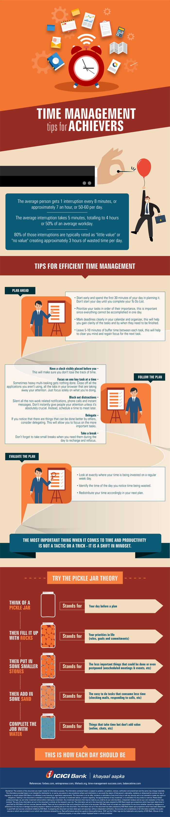 Infographic on Time Management Tips for Achievers