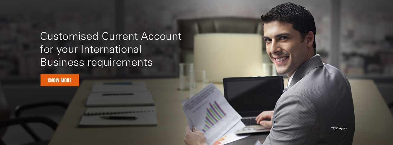Customized Current Account