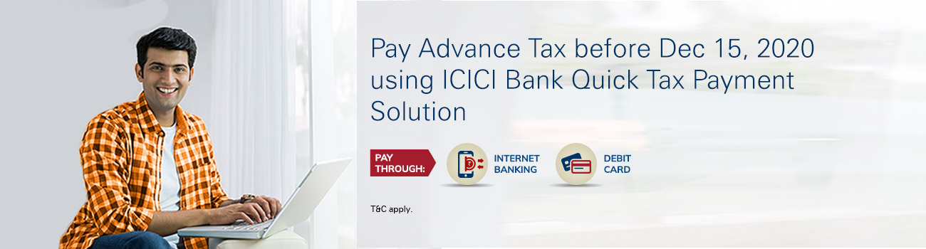 Advance Tax Banner