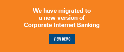corporate internet banking Demo