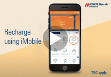Recharge using iMobile