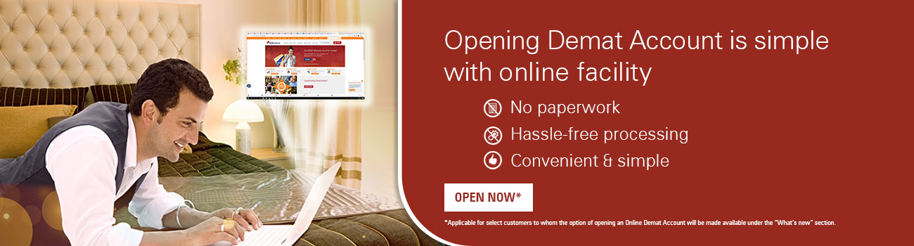 Opening Demat Account Facility