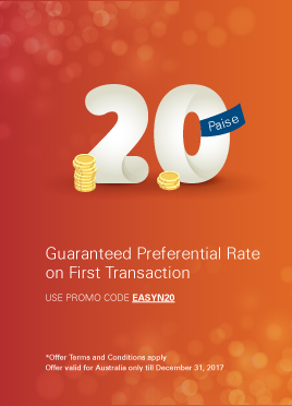 Get 20 paise better rate on your first transaction*