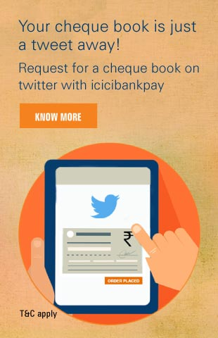 Twitter Cheque Book
