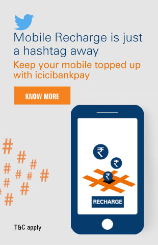 Mobile Recharge ICICIBankpay