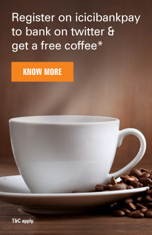Twitter Coffee ICICIBankpay