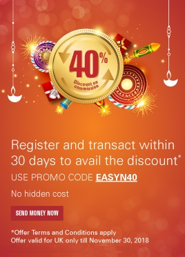 Register and transact within 30 days to avail the discount