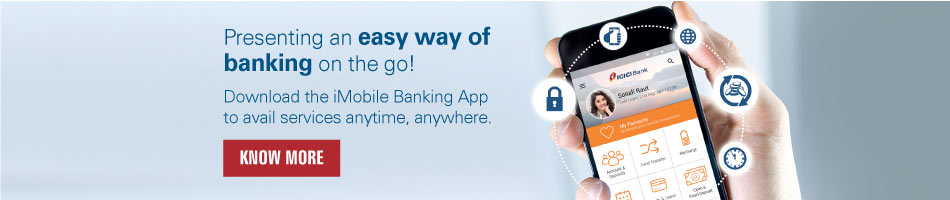 Presenting on easy way of banking on the go!