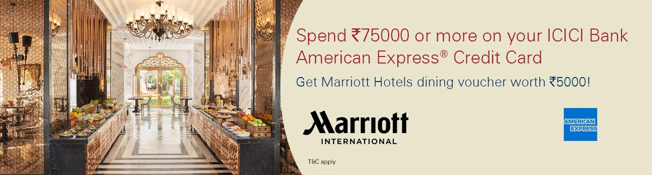Get Dining voucher Rs. 1000 with AMEX
