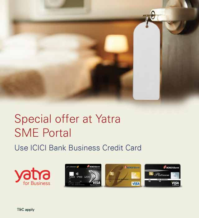 Icici bank special yatra offers yatra sme portal offer reheart Image collections