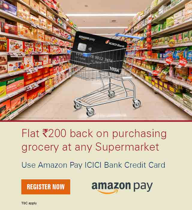 Amazon Pay ICICI Bank Credit Card Offer