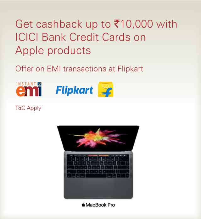 Extra Savings on Flipkart with EMI transactions - ICICI Bank