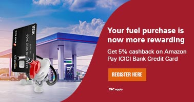 amazon.in - 5% Cash back on Fuel