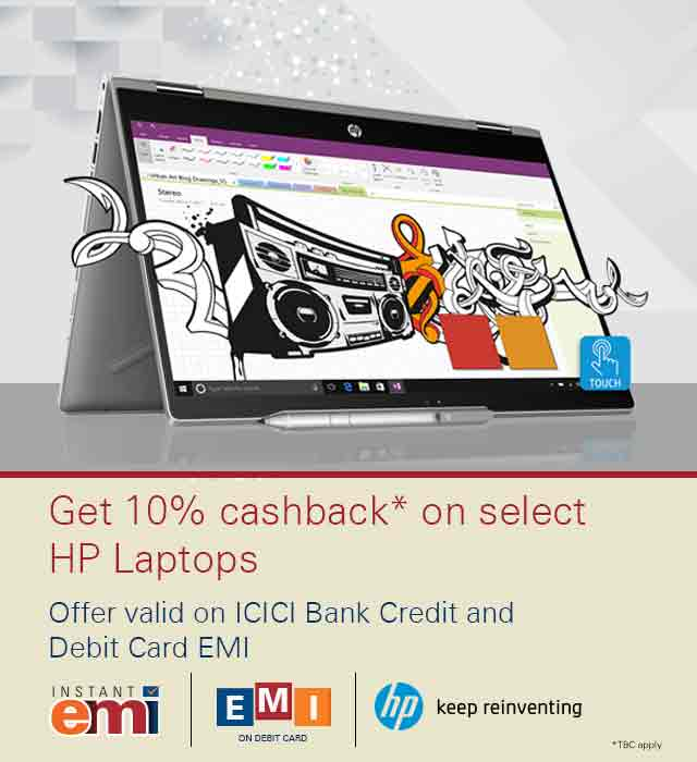 HP Laptop Offer