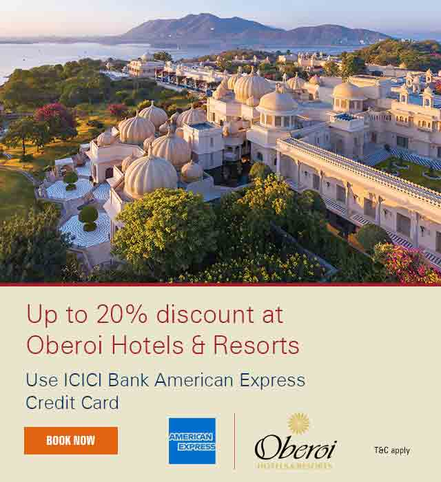 Oberoi Hotels & Resorts Offer