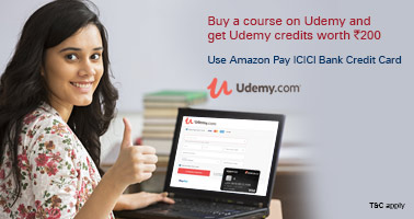 udemy.com - Udemy credits worth INR 200 on all Courses