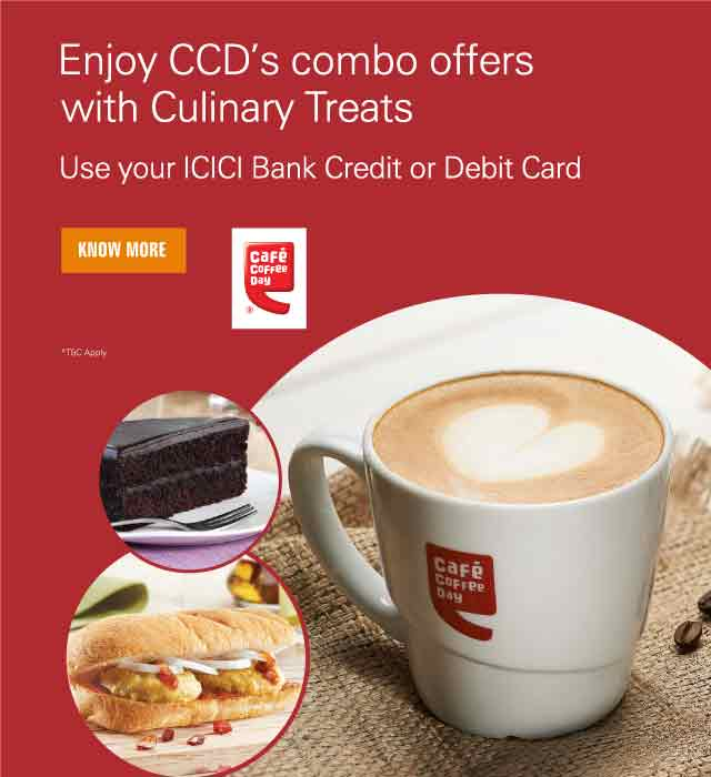 Café Coffee Day Combo Offer