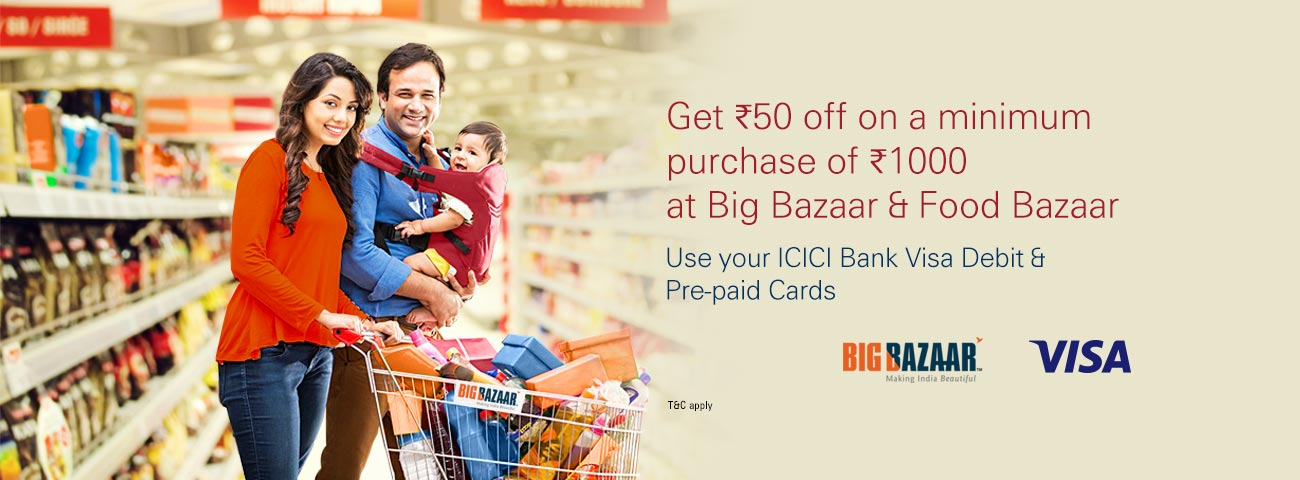 BigBazaar Offer