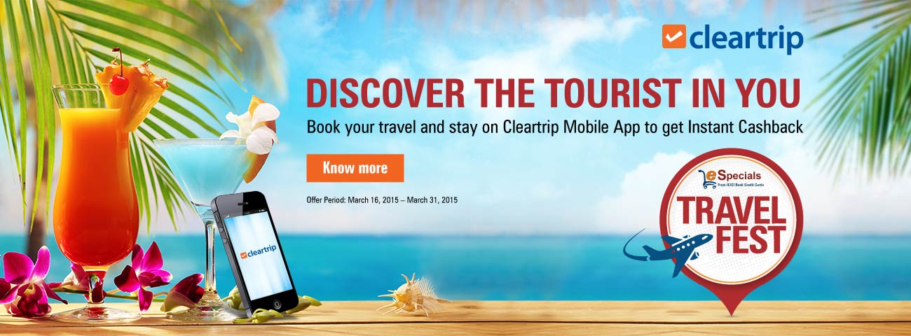 Cleartrip coupons hdfc