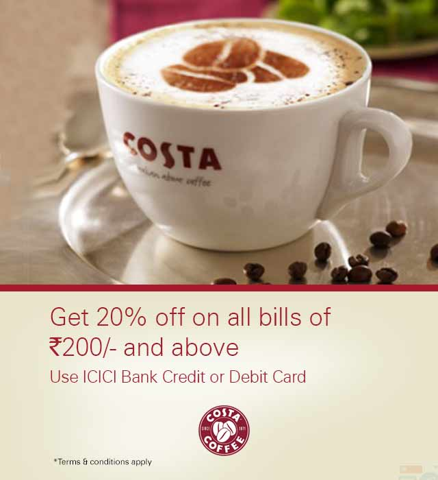 Costa Coffee Offer