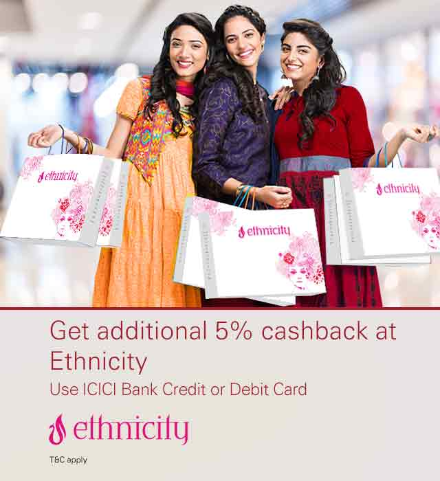 Ethnicity Cashback Offer