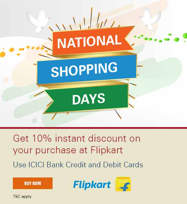 Flipkart National Shopping days offer