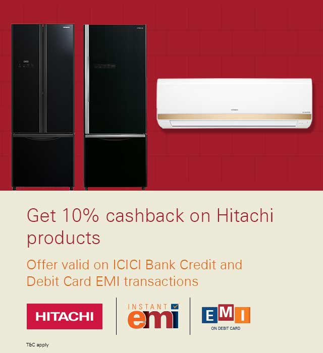 Hitachi Offer