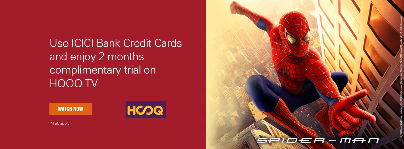 HOOQ TV Coupons & Offers - One month Free Subscription