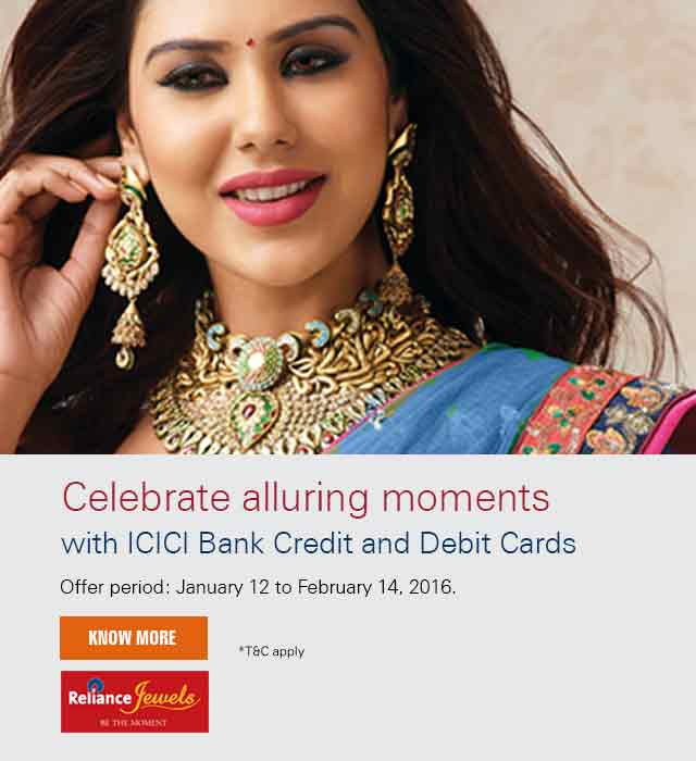 Reliance Jewels offer