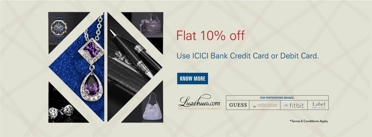 Luxehues Offer - FLAT 10% OFF