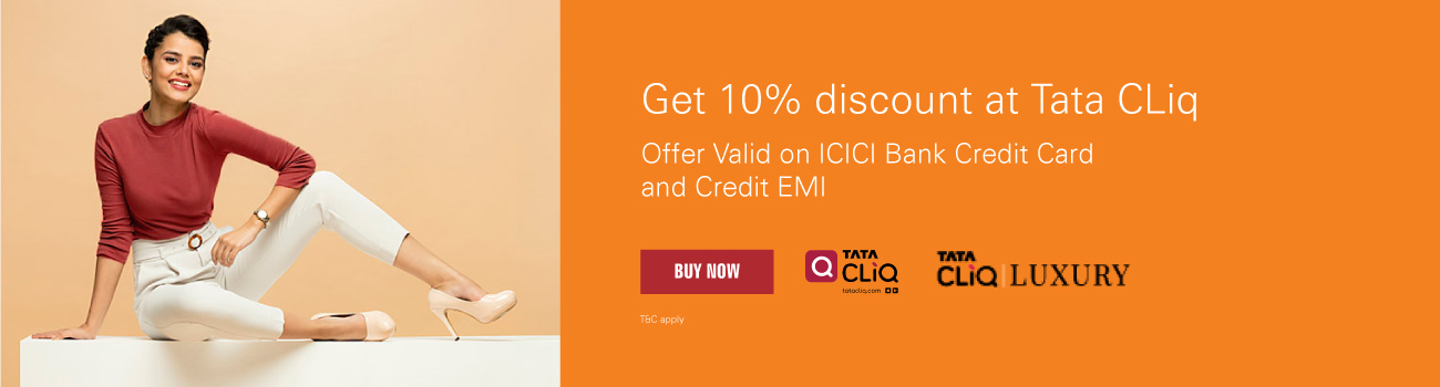 Tata CLIQ offer - 5% instant discount