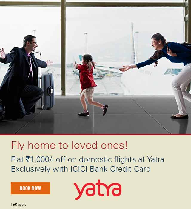 Yatra domestic flight discount coupons