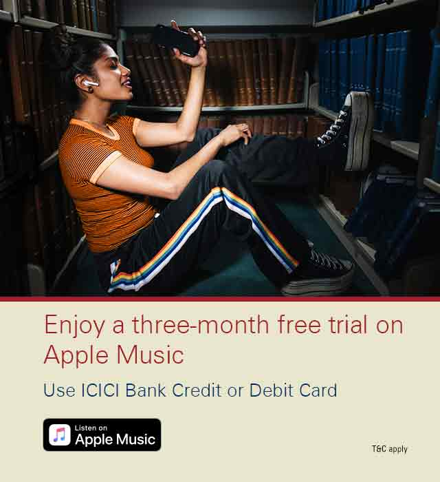 Apple music campaign offer
