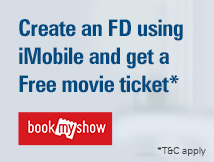 iMobile Fixed Deposit Free Movie offer