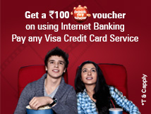 Pay any Visa Credit Card Offer