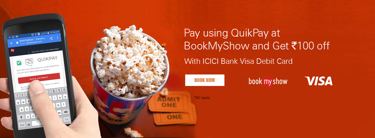 bookmyshow visa offer
