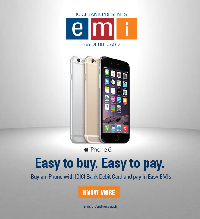 EMI on Debit Card Offer