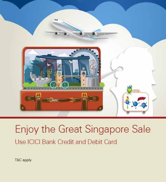 Singapore Sale Offer