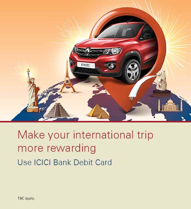 Mega International Trip Campaign Offer