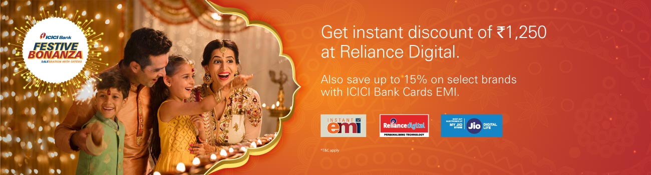 Reliance Digital Offer - 10% Cashback