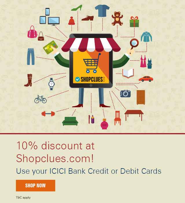 Shopclues Cashback Offer