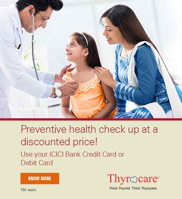 Thyrocare Discount Offer