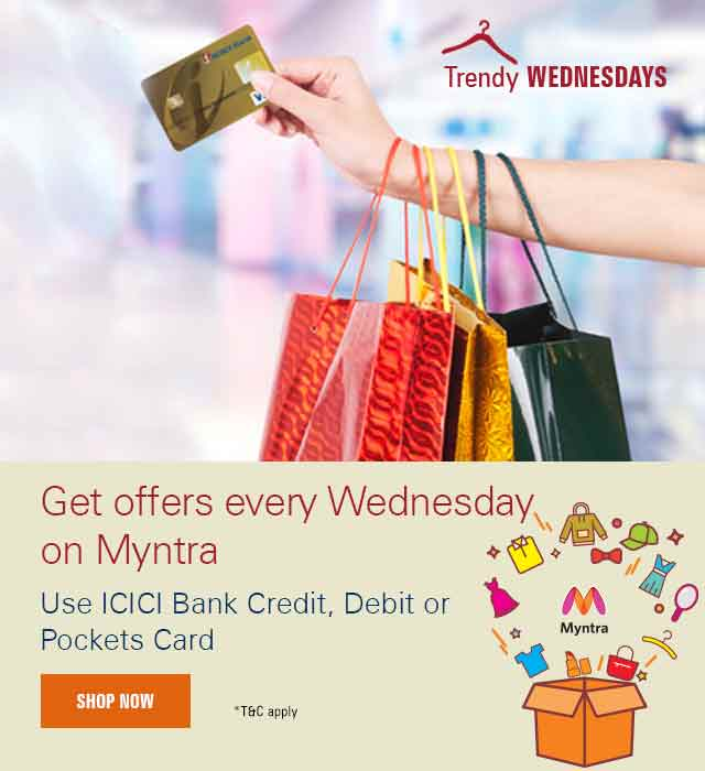 Trendy Wednesdays Myntra Offer