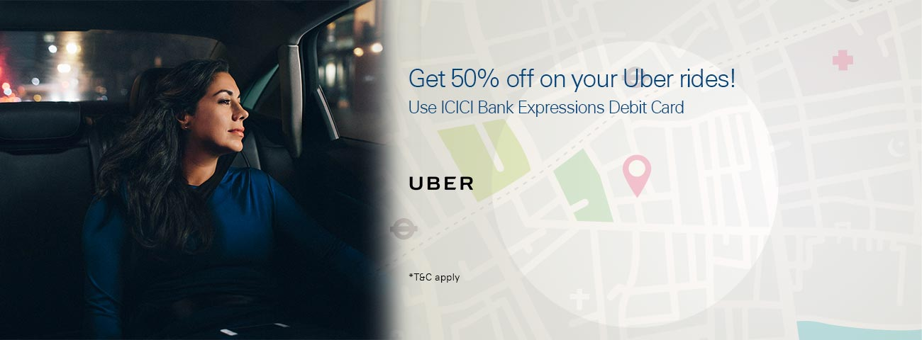 Uber Ride Coupon - 50% Off on first 6 Uber Rides