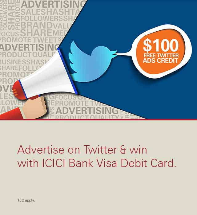 Twitter ads campaign Offer