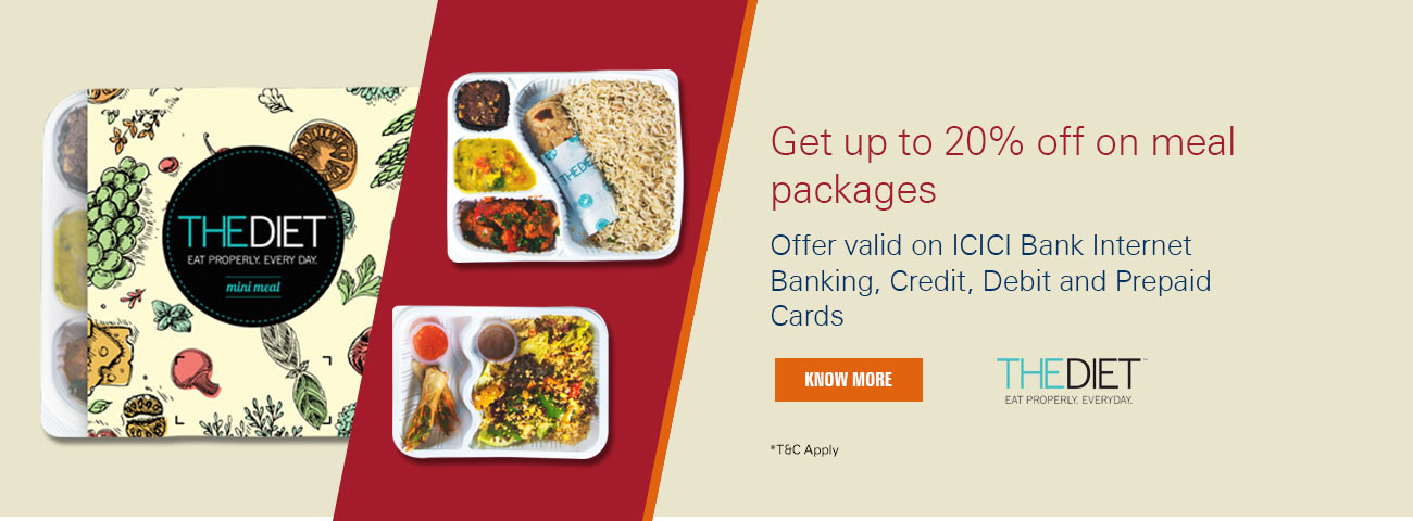 ICICI Bank - TheDiet.in offer
